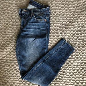 JOES Distressed Hem Jeans